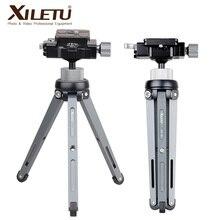 XILETU XT 15 + BS 1 Macchina Fotografica Del Telefono Del Basamento Leggero Da Tavolo Mini Treppiede Per Smartphone DSLR Mirrorless Camera