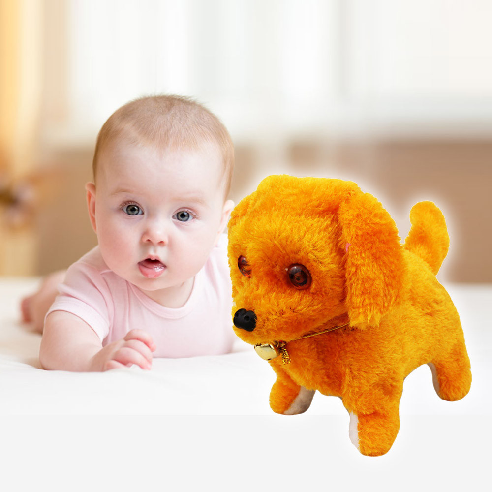 Baby Toys Musical DollsKids Infant Toddler Music Light Cute Robotic Electronic Walking Pet Dog Puppy Kids Toy  Gifts For Baby