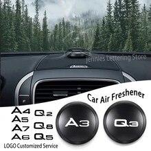 Araba parfüm araba aromaterapi araba hava spreyi lezzet UFO şekli koku audi A3 A4 A5 A6 A7 Q2 Q3 q5 Q7 Q8 araba aksesuarları