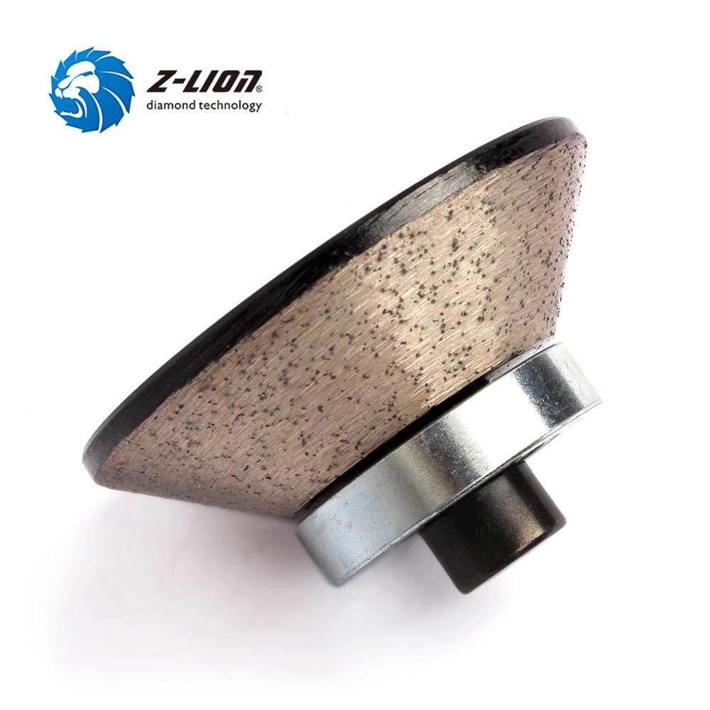 Z-LION E20 Diamond Router Bit Stone Edge Profiling Wheels Marble Granite Concrete Grinding Cutting Tool Wet Use With M10 Thread