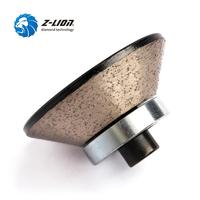 Z LION E20 Diamond Router Bit Stone Edge Profiling Wheels Marble Granite Concrete Grinding Cutting Tool Wet Use With M10 Thread
