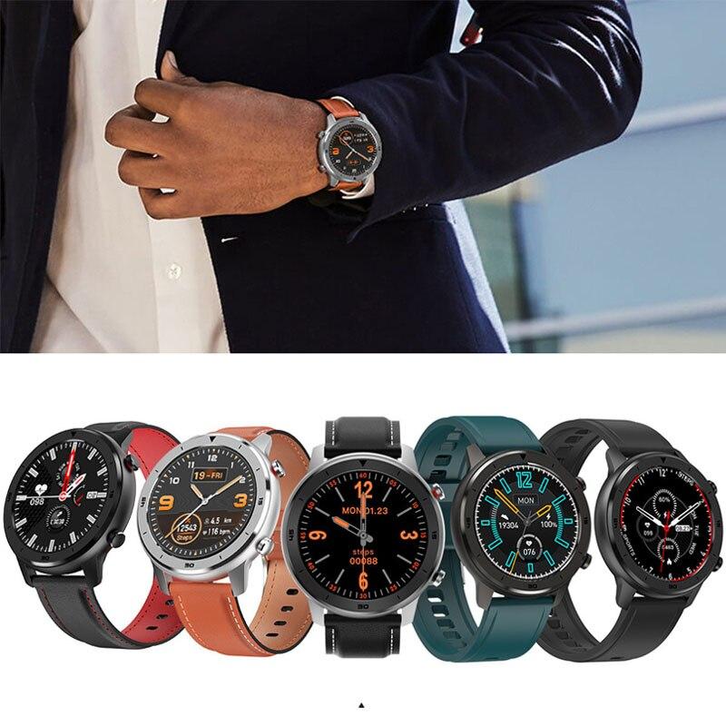 Saatler'ten Dijital Saatler'de 2019 akıllı saat erkekler IP68 spor izci erkekler kadınlar giyilebilir cihazlar akıllı bant nabız monitörü ekg algılama akıllı bilezik