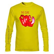 The Cure 'Pornography' T-Shirt NEW Cotton Retro O Neck Tops Tee Shirt 11 Colors For Mens