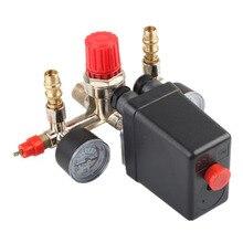 1 шт. воздушный компрессор, автоматический переключатель контроля давления в сборе, клапан на выходе, регулятор, наборы инструментов