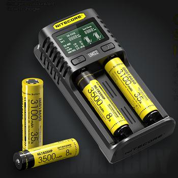 NITECORE UMS2 automatyczne uniwersalny 3A szybka ładowarka inteligentny USB z dwoma gniazdami super ładowarka Liion akumulatorów ni-cd Ni-MH IMR bez baterii tanie i dobre opinie RoHS CE FCC CEC battery charger