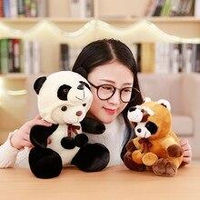 Горячая поворачивающийся енот поворачивающийся панда плюшевая игрушка кукла-обработка настраиваемый логотип рекрут агенты