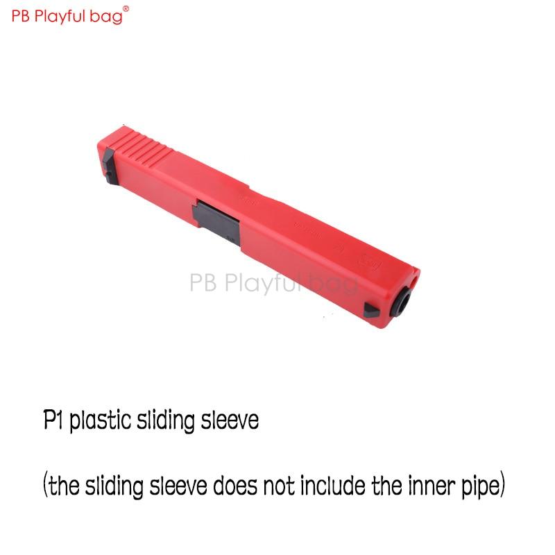 Playful Bag Tactical CS P1 Water Bullet Toy Gun Accessories P1 Sliding Sleeve Antiskid Stickers QD87.2