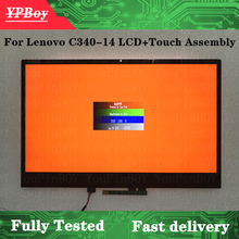 Assembly Touch-Screen Lenovo Matrix New for Ideapad C340-14iwl/C340-14/C340-14api/Lcd