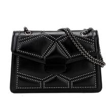New Fashion Ladies Messenger Bag for Women Hasp Soft Leather Small Shoulder Bags Women Crossbody Bag For Girl Purse and Handbags annmouler women shoulder bag high quality leather purse star patchwork messenger bag small zipper crossbody bag for ladies