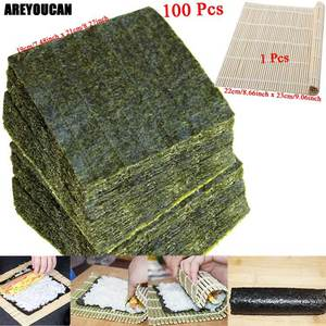Nori Sushi-Set Laver Seaweed Dried for Wholesale High-Quality 50-100pcs