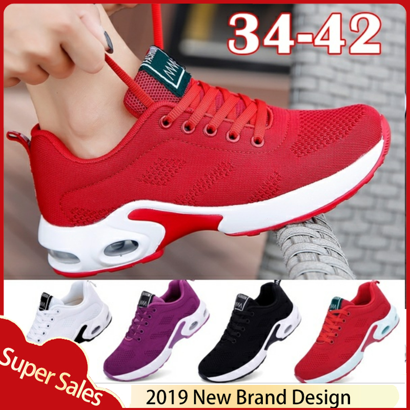 New Platform Sneakers Shoes Breathable Casual Shoes Woman Fashion Height Increasing Ladies Shoes Plus Size 35-42