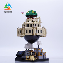 1179Pcs XINGBAO Building Blocks Toys XB-05001 Moc Laputa: Castle in the Sky Bricks With Music Box Gift For Children 4PX to DE