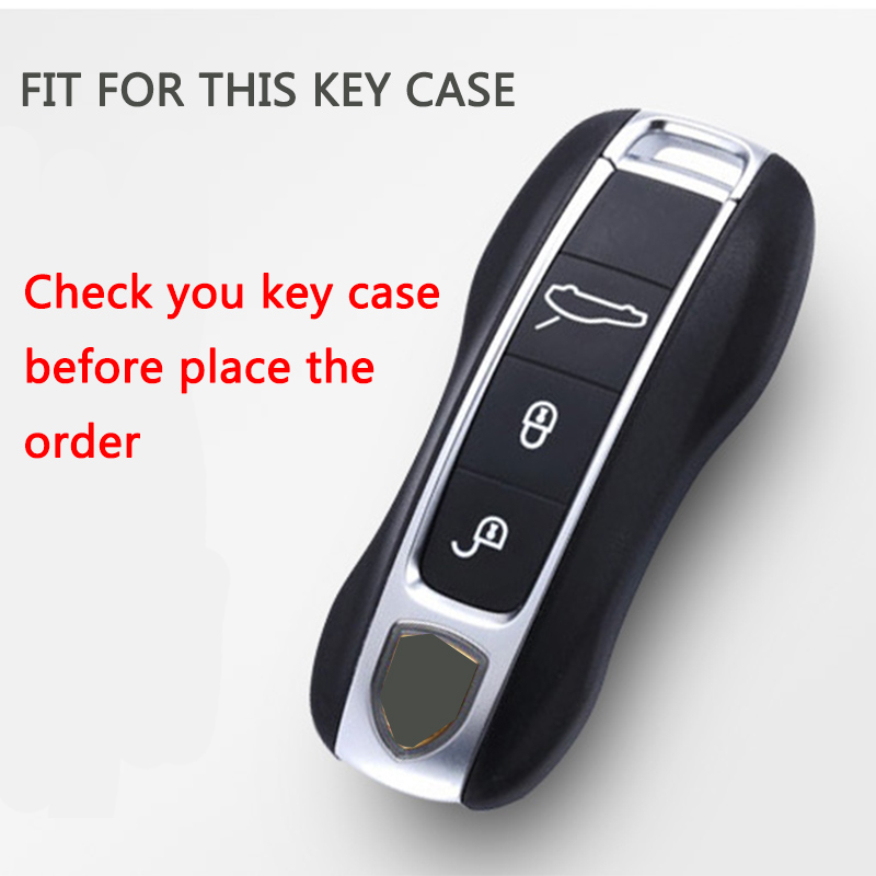 Hight quality PC TPU Car Styling Soft TPU Car Key Case Shell For Porsche Panamera Cayenne Car key Cover Case Car Accessories in Key Case for Car from Automobiles Motorcycles