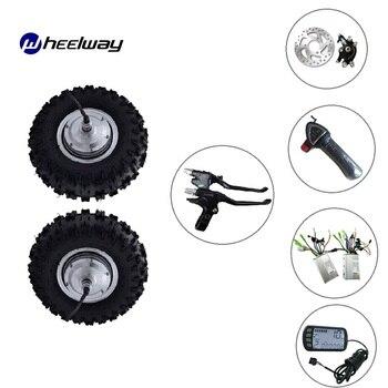 Rueda de Motor de bicicleta eléctrica todoterreno, de 13 pulgadas, 24-48v, 350W-800W