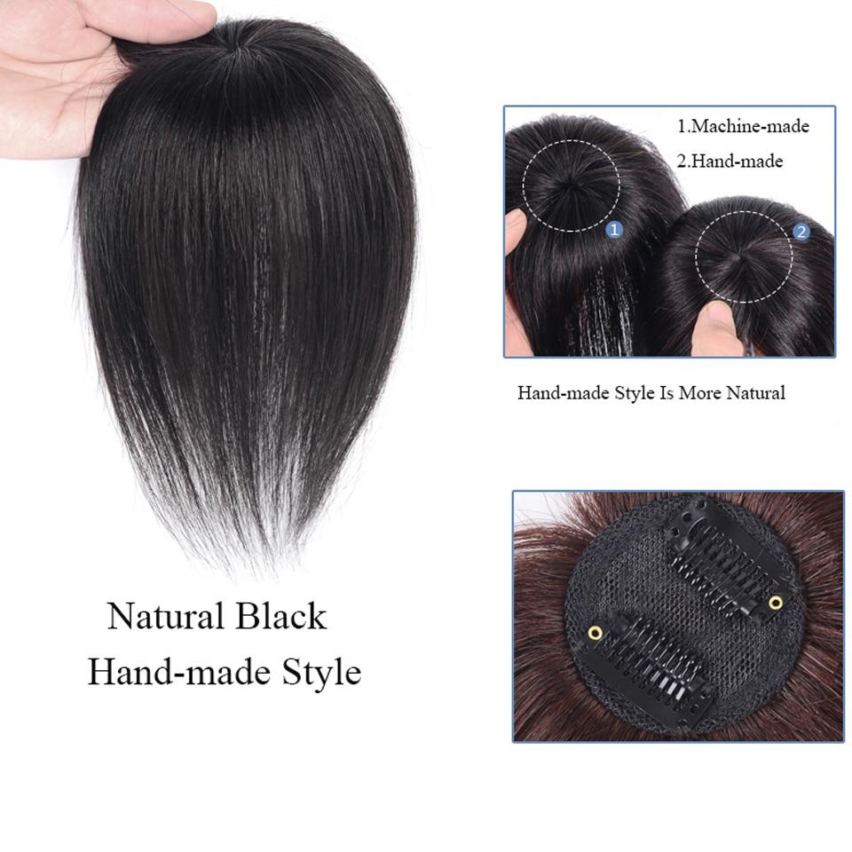 reta artificial-material de cabelo feito à mão