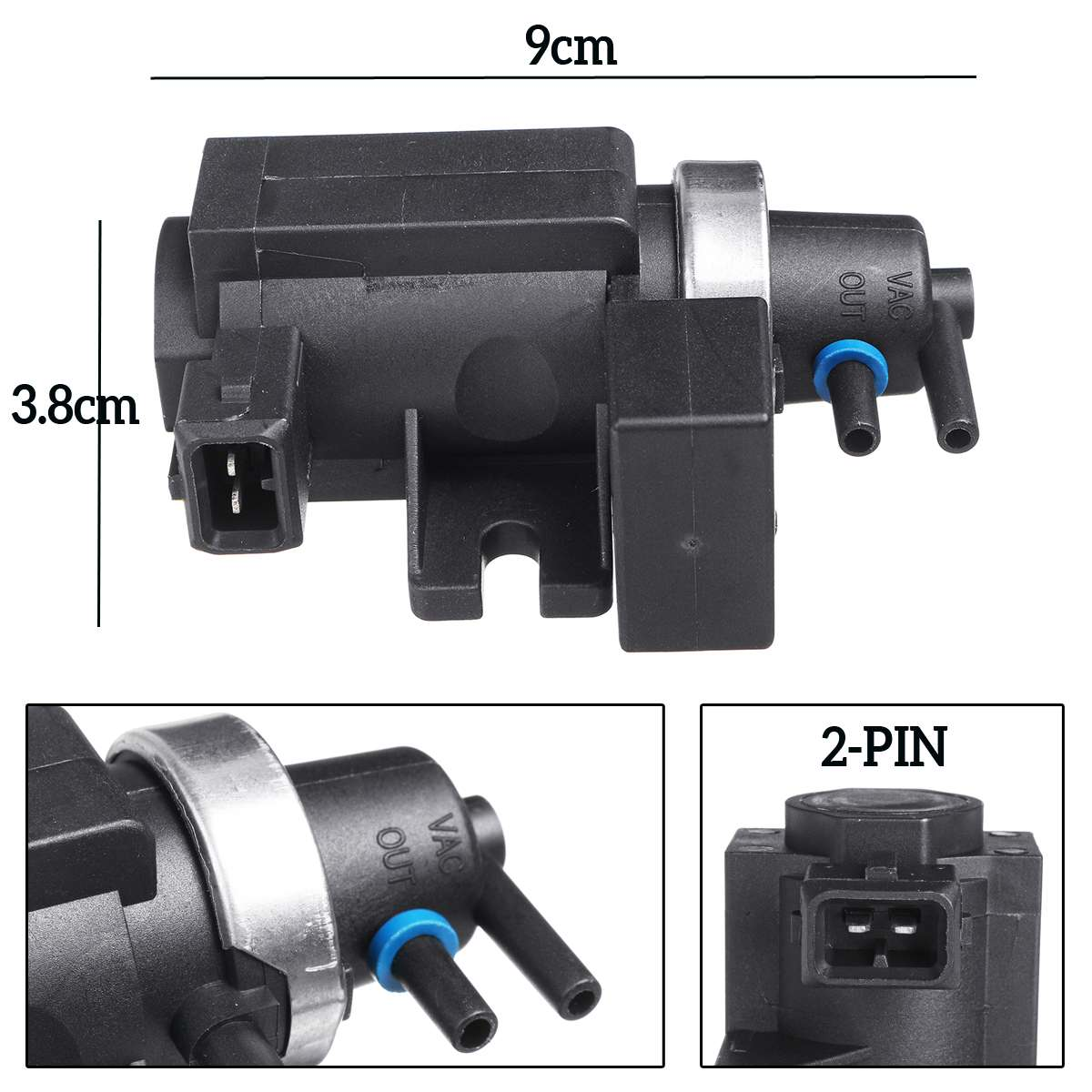 Turbo Pressure Boost Control Solenoid EGR Valve For BMW 7.22796.00.0 11747796634 Air Intakes Parts