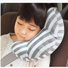 Baby Car Seat Belts Pillow Kawaii Stroller Neck Headrest Children Safety Strap Belt Pad Kids Shoulder Protection Support Cushion