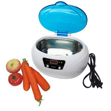 Ultrasonic Cleaner Bath Timer for Jewelry Glasses Manicure Stones Cutters Dental Razor Brush Cleaning Ultrasound Sonic 600ml