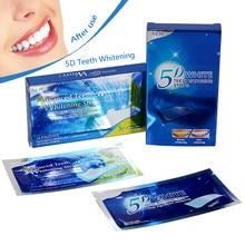 Kit de bandes de blanchiment dentaire, 14 paires, bandes de soins d'hygiène buccale, Gel de blanchiment des dents, outil pour les dents blanches