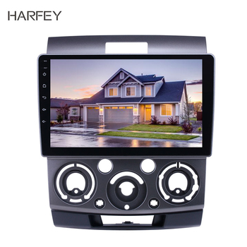 Harfey Car Multimedia player 9 Android 8.1 GPS Radio for 2006 2007-2010 Ford Everest/Ranger Mazda BT-50 support Carplay TPMS image