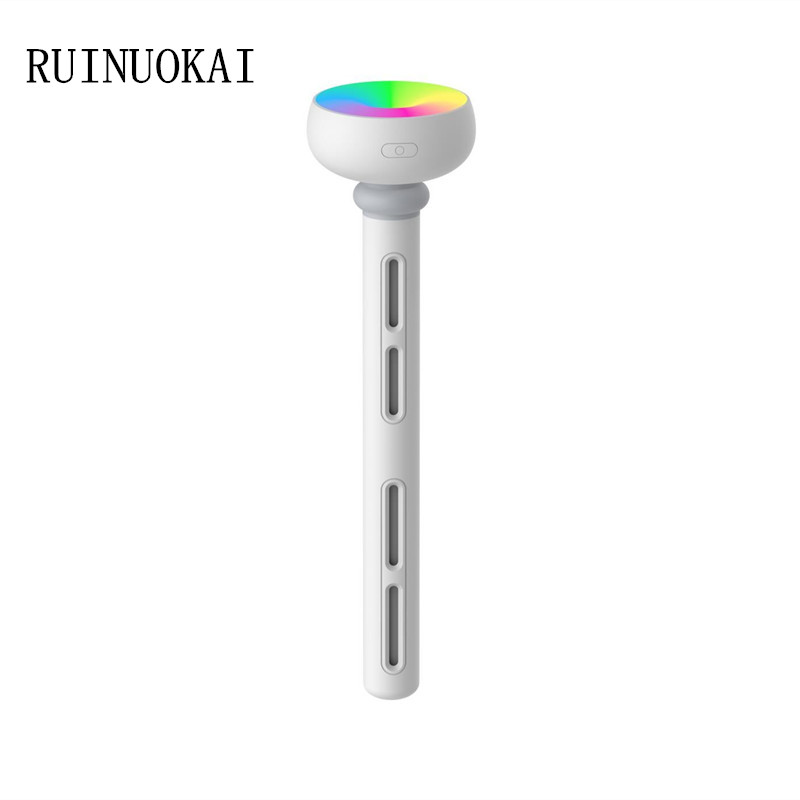 Home Appliances White Air Humidifier Portable USB Ultrasonic Mist Maker Fogger Aroma Diffuser Humidifiers With Colorful LED Lamp