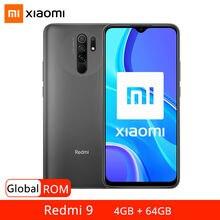 Смартфон xiaomi redmi 9 4 + 64 ГБ 13 МП 653 дюйма 5020 мАч