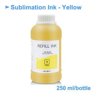 Image 5 - 4x250ml Universal Sublimation Tinte Für Epson Drucker Wärme Transfer Tinte Wärme Drücken Sublimation Tinte Verwendet Für Becher tasse/T Shirt