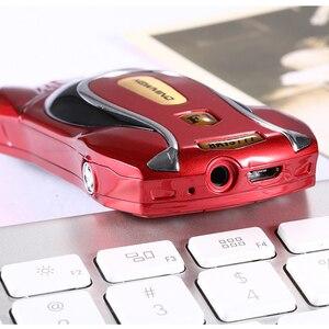 Image 5 - Newmind 2G GSM kilidini araba şekli Mini telefon SOS hızlı arama Ebook oyun Bluetooth düşük radyasyon 3.5mm jack çocuk öğrenci cep telefonu