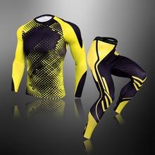 Tracksuit Rashguard-Tights Sportwear Gym Compression Fitness Workout Jogging Running