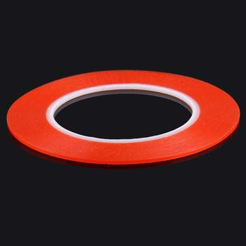 2mm width 3M Double Sided Adhesive Sticker Tape for iPhone / Samsung / HTC Mobile Phone Touch Panel Repair, Length: 25m (Red) image