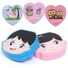 Испанский Английский Цвет Деревянный Детский ящик для зубов для мальчиков и девочек органайзер для хранения молочных зубов для сбора зубов Umbilica сохранить для новорожденных подарки
