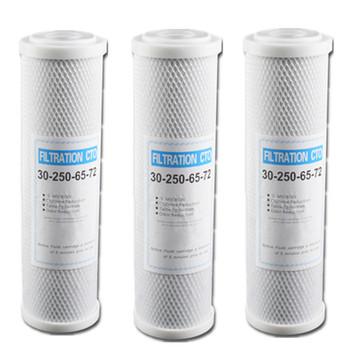 Wody filtr węgla aktywnego filtr z wkładem 10 cal wkład wymienny filtr blok węglowy CTO filtr węglowy filtr do wody tanie i dobre opinie Części do filtrów wodnych