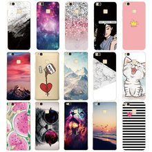 For Cover Huawei P9 Lite Case Cute Animal Silicon Soft TPU for Funda Huawei P9 Lite Case 2016 P9 P9Lite Phone Back Cases(China)