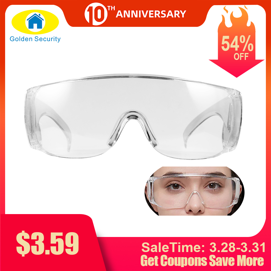 Anti-goggles Protective Glasses Eye Mask Splash-proof Goggles Labor Protection Transparent Windshields For Protecting Eyes