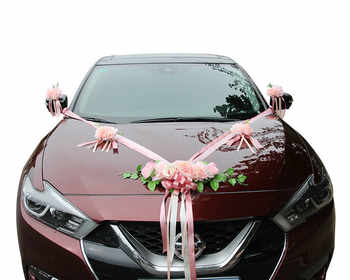 2019 New !! Wedding Car Artificial Flower Decoration Fake Flower Simulated Silk Flowers for Crafting Wedding Center Flowers - Category 🛒 Home & Garden