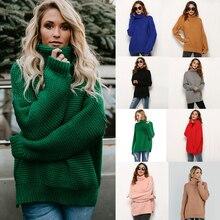 Women Sweaters and Pullovers Turtleneck Plus Size Winter Sweater Women Long Sleeve Loose Knitwear 2019 New Arrivals S-XL цена