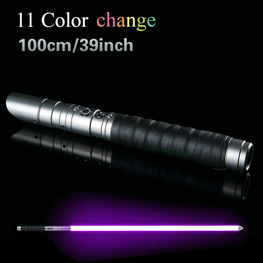 11 Color Lightsaber Metal Sword RGB Light Laser Cosplay Boy Gril Toy Luminous Kids Gift Outdoor Creative Wars Toys Stick Saber