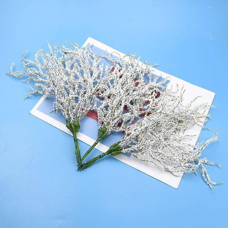 6 Pieces Gypsophila Bouquet Wedding Decorative Flowers Vases For Home Decor Christmas Wreaths Floristics Cheap Artificial Plants