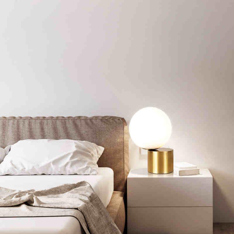 cobre europeu olho cabeceira lampadas led mesa 03