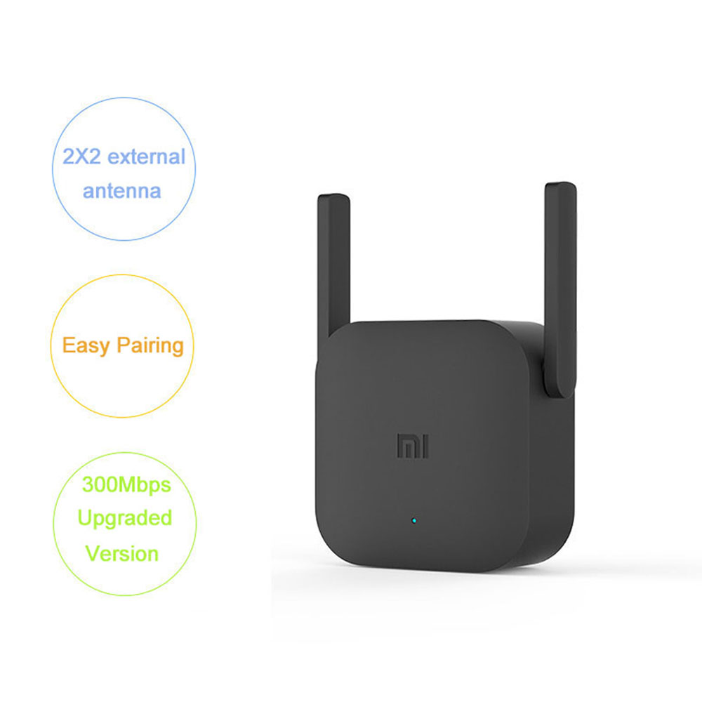 Global Version Xiaomi Pro 300M WiFi Router Amplifier Repeater Signal Cover Extender Roteador 2 Mi Wireless Router Repetidor