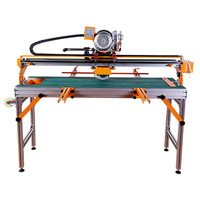 Fully Automatic Tile Cutter Desktop Electric Stone Material Floor Tiles Water Jet Machine 45 Degree Chamfer Frayed Edge