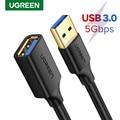 Ugreen USB Verlängerung Kabel USB 3,0 Kabel für Smart TV PS4 Laptop Computer Männlichen zu Weiblichen 3,0 2,0 Extender Daten kabel USB zu USB