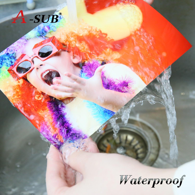 Купить с кэшбэком A4 50 Sheets Gloosy Photo-paper Waterproof High Double Side For Inkjet Printer Photo Album