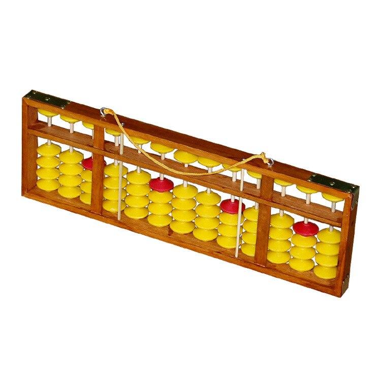 coluna de madeira ábaco calculando ferramenta collectible