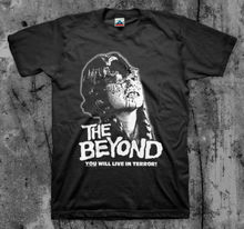 The Beyond - T Shirt (Lucio Fulci Horror Gore Grindhouse )Cotton Men T-Shirts Classical 2019 O Neck Streetwear Hip Hop Tee