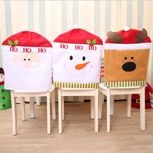 Christmas Decorations Cartoon Chairs Hats Daily Necessities Big Chair Covers  Ornaments