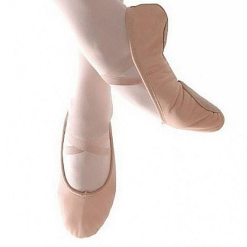 Childrens Adult Canvas Soft Bottom Ballet Shoes Practice Yoga Shoes M09