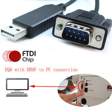 USB DB9 ชายสำหรับ SKYWATCHER EQ6 EQ5 HEQ5 PC EQMOD RJ12 EQDirect PC SynScan Hand Control เปลี่ยนสาย(China)