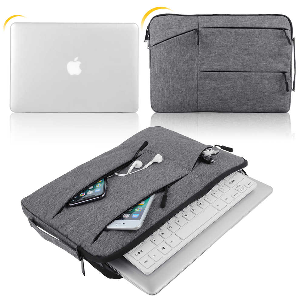 Laptop Tasche Für 11 12 13 14 15 15,6 zoll Tablet Fall Macbook Air Pro Retina Laptop Hülse Fall PC abdeckung für Xiaomi Air HP Dell