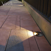 Led wall lighting round underground lamp fixtures outdoor buried Luminaria waterproof spotlight landscape garden wall light